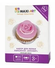 Набор для Лепки Пирожное Бисквит для Девочек Maxi Art