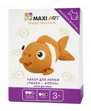 Набор для Лепки Рыбка - Клоун Maxi Art