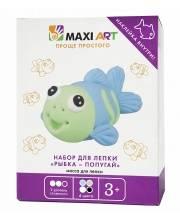 Набор для Лепки Рыбка - Попугай Maxi Art
