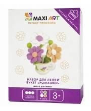 Набор для Лепки Букет Ромашки для Девочек Maxi Art