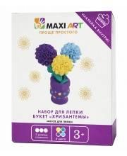 Набор для Лепки Букет Хризантемы для Девочек Maxi Art