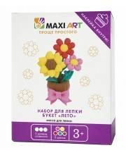 Набор для Лепки Букет Лето для Девочек Maxi Art