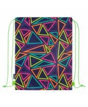 Мешок для Обуви Разноцветные Треугольники Maxitoys