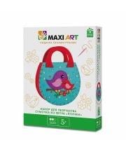 Набор для Творчества Сумочка из Фетра Птички Maxi Art