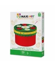 Набор для Творчества Шкатулка из Фетра Божьи Коровки Maxi Art
