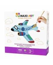 Набор для Раскрашивания Игрушка Самолёт Maxi Art