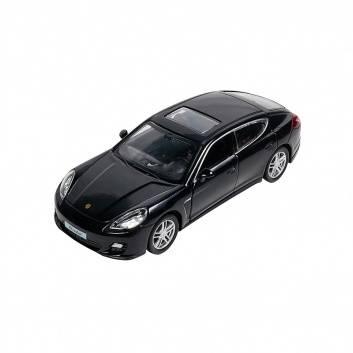 Игрушки, Машинка Инерционная Porsche Panamera Turbo Черная Pit Stop , фото