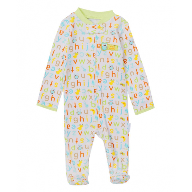 КомбинезонКомбинезонбелогоцвета марки Vitamins Baby для малышей.<br>Комбинезон с длинными рукавами и закрытыми ножками выполнен из стопроцентного хлопка, украшен орнаментом. Застегивается комбинезон на молнию по всей длине спереди и на кнопку возле горлышка.Манжеты на рукавах сшиты таким образом, что ручки малыша можно легко открывать и закрывать. На груди комбинезон украшен аппликацией с изображением совы.<br><br>Размер: 0 месяцев<br>Цвет: Белый<br>Рост: 55<br>Пол: Не указан<br>Артикул: 623133<br>Страна производитель: Китай<br>Сезон: Всесезонный<br>Состав: 100% Хлопок<br>Бренд: США