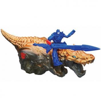 Игрушки, Игрушка-трансформер Дино Спарклс: Оптимус Прайм и Гримлок HASBRO 623451, фото