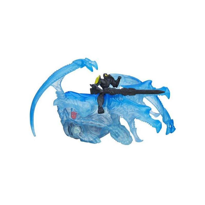 Игрушка-трансформер Дино Спарклс: Бамблби и Стрейф