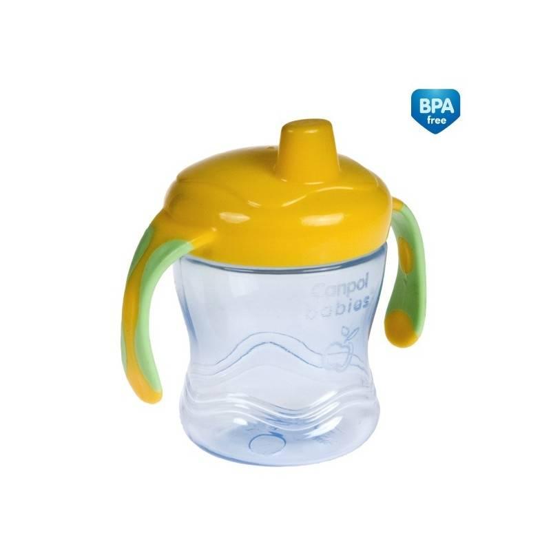 ПоильникПоильник Canpol babies желтого цвета.Специально для кормления детей старше 1 года всемирно известная польская компания Canpol создала поильник-непроливайку. Он поможет вашему малышу научиться самостоятельно пользоваться посудой.<br>С помощью этого безопасного поильника ваш ребенок легко перейдет от использования сосок и бутылочек к взрослой посуде. Поильник особенно удобен во время прогулок или путешествий с детьми. Даже если он упадет или перевернется, содержимое не выльется, так как поильник снабжен специальным клапаном. От загрязнения и пыли носик чашки надежно защищает крышечка.Упоильника небольшой объем, удобные ручки и гибкий носик. Материал, из которого сделан поильник, не содержит бисфенол А и безопасен для здоровья ребенка.<br>Объем: 250 мл. Цвет желтый.<br><br>Возраст от: 12 месяцев<br>Пол: Не указан<br>Артикул: 621451<br>Бренд: Польша<br>Размер: от 12 месяцев