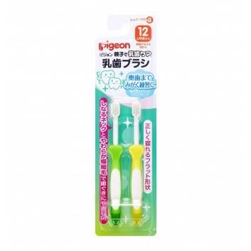 Гигиена, Зубная щетка Шаг 3 2 шт Pigeon 161568, фото