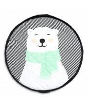 Мягкий игровой коврик и мешок для игрушек 2в1 Play&Go