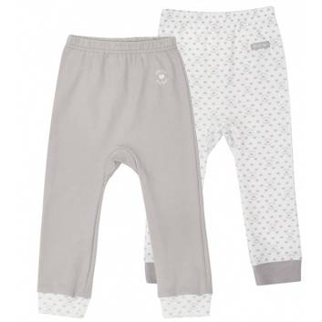 Малыши, Комплект брюк 2 шт Lucky Child (серый)203313, фото