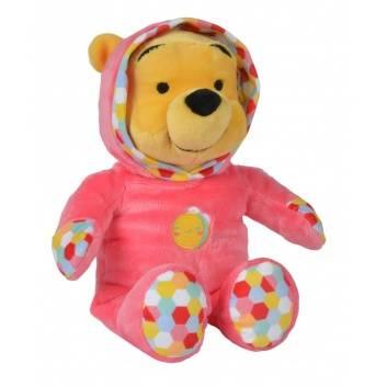 Игрушки, Мягкая игрушка Медвежонок Винни в комбинезоне 25 см Nicotoy 171876, фото