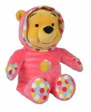 Мягкая игрушка Медвежонок Винни в комбинезоне 25 см Nicotoy