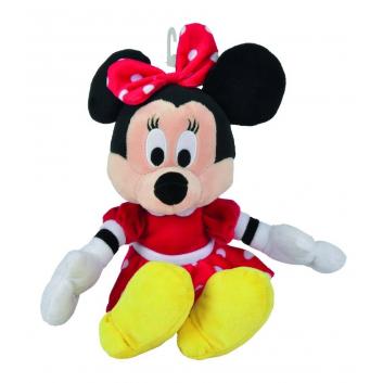 Игрушки, Мягкая игрушка Минни Маус в красном платье 25 см Nicotoy 171877, фото