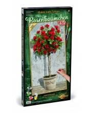 Раскраска по номерам Розовое дерево красное Schipper
