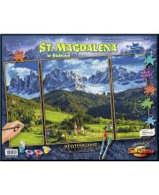 Раскраска по номерам Триптих Святая Магдалена Schipper