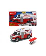Машина скорой помощи со светом и звуком 30 см Dickie Toys