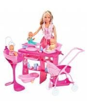Кукла Штеффи с 3 малышами 29 см Simba