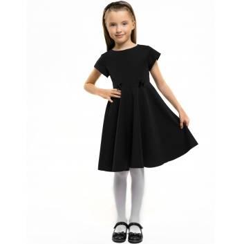 Девочки, Платье President School (черный), фото