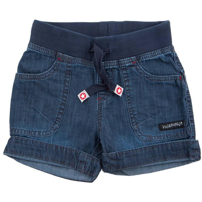 ШортыШортыcинегоцвета маркиVillervalla для девочек.<br>Модные и удобные джинсовые шорты разработаны специально для детей. Они отлично сидят на талии благодаря широкой резинке и шнурку в ней. Короткие джинсовые шорты должны быть в летнем гардеробе любого ребенка! Это изделие станет основой многих ярких ансамблей.Сшиты шорты из плотной качественной ткани, в составе которой - дышащий гипоаллергенный хлопок.Декорированы шорты отворотами, карманами с вышивкой и лейблом.<br><br>Размер: 9 лет<br>Цвет: Синий<br>Рост: 134<br>Пол: Для девочки<br>Артикул: 624666<br>Сезон: Весна/Лето<br>Состав: 100% Хлопок<br>Бренд: Швеция