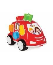 Машинка с геометрическими фигурами Нилоя Shape Sorter Car Pilsan