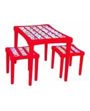 Набор мебели с наклейками Story Pilsan