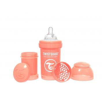 Кормление, Антиколиковая бутылочка для кормления 180 мл Twistshake (персиковый)172264, фото