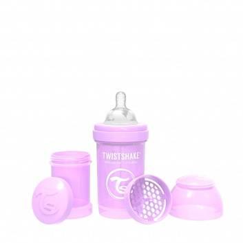 Кормление, Антиколиковая бутылочка для кормления 180 мл Twistshake (фиолетовый)172268, фото