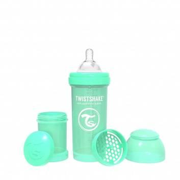 Кормление, Антиколиковая бутылочка для кормления 260 мл Twistshake (зеленый)172274, фото