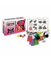 Пушистые игрушки из проволочек и помпончиков Маэстро