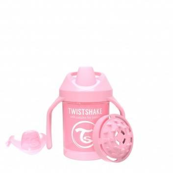 Кормление, Поильник Mini Cup 230 мл Twistshake (розовый)172372, фото