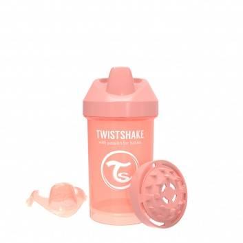 Кормление, Поильник Crawler Cup 300 мл Twistshake (персиковый)172378, фото