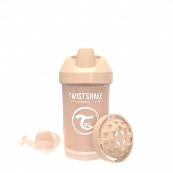 Кормление, Поильник Crawler Cup 300 мл Twistshake (бежевый)172383, фото