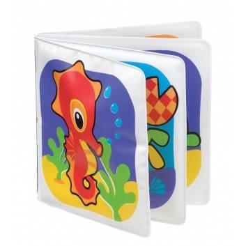 Книги и развитие, Книжка-пищалка для купания Playgro 206621, фото