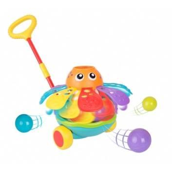 Игрушки, Игрушка-каталка Осьминог Playgro 206634, фото