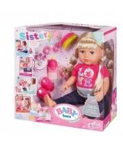 Игрушка Кукла Сестричка Baby born 43 см