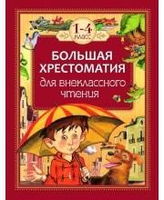 Большая хрестоматия для внеклассного чтения. 1-4 класс РОСМЭН