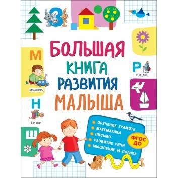 Книги и развитие, Большая книга развития малыша РОСМЭН , фото