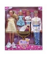 Куклы Штеффи Кевин Еви Тимми набор Королевская семья 29 см 12 см Steffi