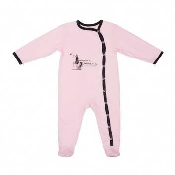 Малыши, Комплект комбинезонов 2 шт Lucky Child (розовый)221802, фото