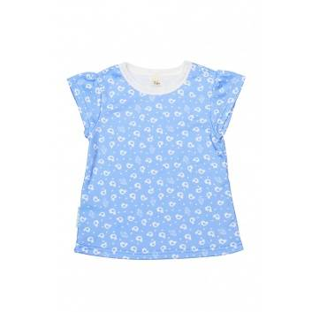 Девочки, Комплект футболок 2 шт Lucky Child (сиреневый)221849, фото