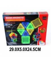 Конструктор магнитный 30 деталей Наша Игрушка