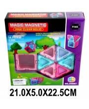 Конструктор магнитный 14 деталей Наша Игрушка