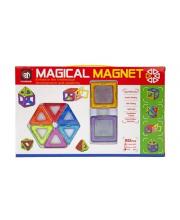 Конструктор магнитный 3D 20 деталей Наша Игрушка