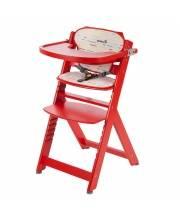 Стульчик для кормления Timba с мягким вкладышем Red Lines Safety 1st