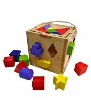 Развивающий сортер и головоломка Кубик Наша Игрушка
