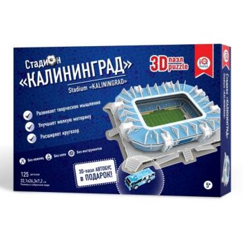 Игрушки, 3D пазл Стадион Калининград IQ Puzzle 504694, фото